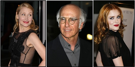 Larry David, Evan Rachel Woody, Patrick Clarkson