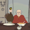 "This animated short came out during last thanksgiving.  I found it really enjoyable.  It won't have you in stitches but it will ""warm the cockles"".  I'm sure there's more than […]"